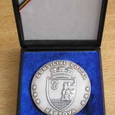 MMD1 - TEMATICA HERALDICA - HARSOVA - 1900 DE ANI DE ATESTARE DOCUMENTARA - Medalii Romania, An: 2003