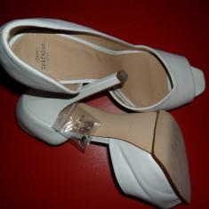 Pantofi Zara 2013 - Pantof dama Zara, Culoare: Alb, Marime: 39, Alb