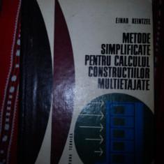 Metode simplificate pentru calculul constructiilor multietajate Einar Keintzel