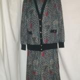 COMPLEU ROCHIE CU BLAZER, IMPRIMEU FLORAL, 46 - Costum dama, Culoare: Multicolor, Multicolor