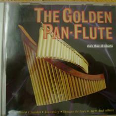 Album CD The Golden Pan-Flute compilatie muzica nai melodii clasica classic 20 melodii peste 60 minute - Muzica Clasica
