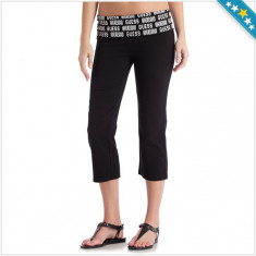Pantaloni Trening GUESS - Pantaloni Trei Sfert Dama, Femei - 100% AUTENTIC