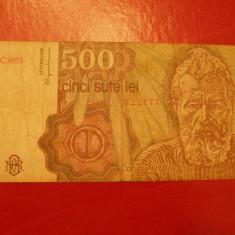 500 LEI 1991 VF - Bancnota romaneasca