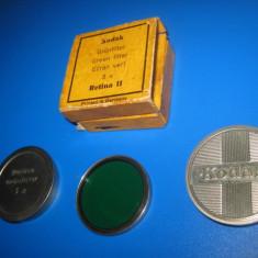 Filtru verde- Kodak- Retina2, diam. 2- 3cm. - Filtru foto