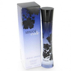 Armani Code Woman 100 ML dama Made in France - Parfum femeie