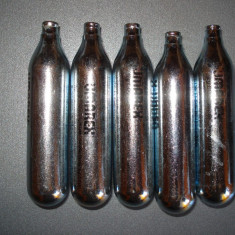 Set 5 capsule co2 UMAREX cu ulei siliconic, pistol aer comprimat - Gaz Airsoft