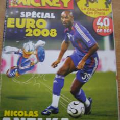 Le journal de Mickey nr. 2920/2008. EURO 2008 (lb. franceza) - Revista scolara