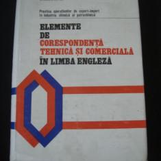 SPIRIDON LEFTER - ELEMENTE DE CORESPONDENTA TEHNICA SI COMERCIALA IN LIMBA ENGLEZA