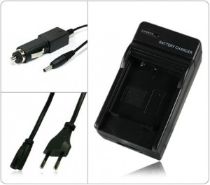 Incarcator acumulator Sony NP-BN1 NPBN1 + adaptor auto (12V)