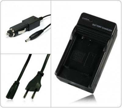 Incarcator acumulator Canon LP-E12 LPE12 + adaptor auto (12V) foto