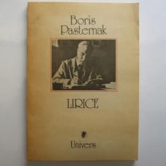 B. Pasternak Lirice 1989 - Carte poezie