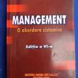 NECULAI PATRASCU - MANAGEMENT - O ABORDARE ISTORICA - EDITIA VI-A - BRASOV - 2008