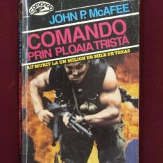 JOHN P. MCAFEE -COMANDO PRIN PLOAIA TRISTA - Carte de aventura