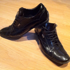 Pantofi elegnati DENIS marimea 42 - Pantof barbat, Culoare: Negru, Negru