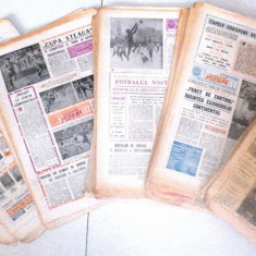 Suplimentul Sportul Fotbal, 1985-1989 - Ziar