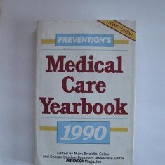 Prevention's Medical Care Yearbook 1990