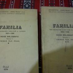 FAMILIA-Foaie enciclopedica si beletristica cu ilustratiuni 1865-1906,vol I-II