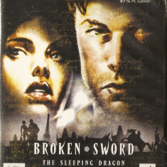 JOC PC BROKEN SWORD THE SLEEPING DRAGON ORIGINAL SIGILAT / STOC REAL / by DARK WADDER - Jocuri PC Thq, Actiune, 12+, Single player