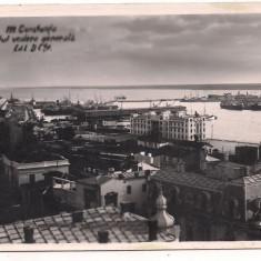 Carte postala(ilustrata) -CONSTANTA-Portul vedere generala anul 1939 - Carte Postala Dobrogea dupa 1918, Circulata, Fotografie