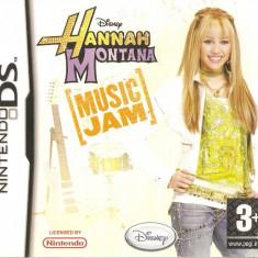 JOC NINTENDO DS DISNEY HANNAH MONTANA MUSIC JAM ORIGINAL SIGILAT / STOC REAL / by DARK WADDER - Jocuri Nintendo DS, Simulatoare, 3+, Single player