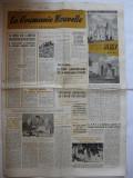 """Ziar """" La Roumanie Nouvelle"""" - nr. 218 / 1957"""