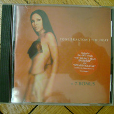 Album CD Toni Braxton - The Heat R&B soul pop balade romante blues female vocal 19 melodii 7 bonus - Muzica R&B