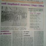 Ziarul saptamana 6 iulie 1984 (vizita lui ceausescu in jud. sibiu si alba )
