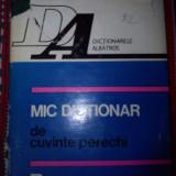 Mic dictionar de cuvinte perechi Silviu Constantinescu - Carte de aventura