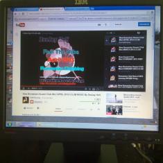 Monitor lcd ibm, 17 inch