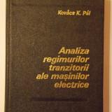 Analiza regimurilor tranzitorii ale masinilor electrice