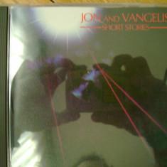 Album CD Jon & Vangelis - Short Stories Yes synth sintetizator experimental ambient electronic progressive progresiv prog pop rock 10 melodii - Muzica Ambientala