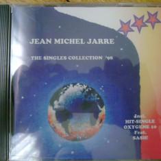 Album CD Jean Michel Jarre - The Singles Collection '98 synth sintetizator experimental ambient electronic progressive progresiv pop rock 11 melodii - Muzica Ambientala