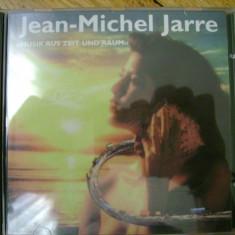 Album CD Jean Michel Jarre - Musik aus Zeit und Raum compilatie synth sintetizator experimental ambient electronic progressive pop rock 13 melodii - Muzica Ambientala