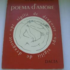 POEMA D`AMORE ETTORE CAPUANO - Carte poezie