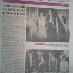 Ziarul romania literara 13 noiembrie 1980 (vizita lui ceausescu in suedia si danemarca )