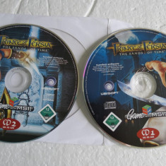 2143plu Joc original Prince of Persia 2cd The Sands of time - Jocuri PC Ubisoft, Role playing, 12+, Single player