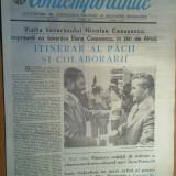 Ziarul contemporanul 20 aprilie 1979 (vizita lui ceausescu in mozambic )