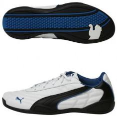 Adidasi Puma 30282401 alb, negru, albastru, ORIGINALE - Adidasi barbati Puma, Marime: 38