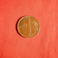 Moneda 1 Cent 1951 Elvetia, bronz, d= 1, 7 cm, Europa