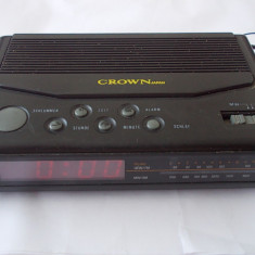 CEAS CU RADIO , MARCA CROWN ,MADE IN JAPAN !