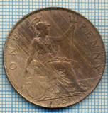 197 MONEDA VECHE - MAREA BRITANIE - ONE PENNY - anul 1921 -starea care se vede