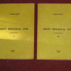 GABRIEL BOROI - DREPT PROCESUAL CIVIL - NOTE DE CURS - - Carte Drept procesual civil
