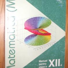 MATEMATICA ( M2 )  clasa a XII -a,  Ilie P. Lambor  - Aramis, 2002,  240 p.