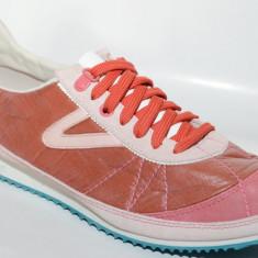 Adidasi Tretorn Riva 47182901, ORIGINALI, nylon/textil, maro, marimi: numai 40 - Adidasi barbati