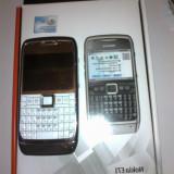 Nokia E71 ORIGINAL - Telefon mobil Nokia E71, Alb, Neblocat