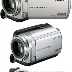 Camera Video Sony DCR-SR37E 60x Zoom Optic, 60 GB HDD, Intre 2 si 3 inch, Hard Disk, CMOS, Peste 40x