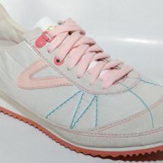 Adidasi Tretorn Riva 47182904, ORIGINALI, nylon/piele, crem - Adidasi dama Tretorn, Marime: 36, 40