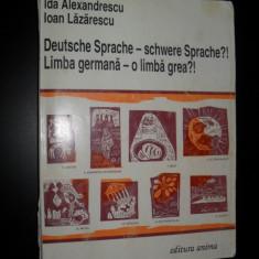Manual de limba germana(nivel mediu si avansat) Ida Alexandrescu, Ioan Lazarescu