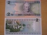 Lituania 2 litai 1994 UNC, 2 bucati, 10 roni bucata