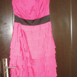 Rochie ASOS - Rochie de seara, Marime: 38, Culoare: Roz, Roz, Midi